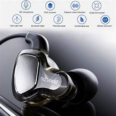 Bakeey Noise Cancelling Stereo Wired by Other Gadgets Bakeey Dual Dynamic Wired In Ear Earphone