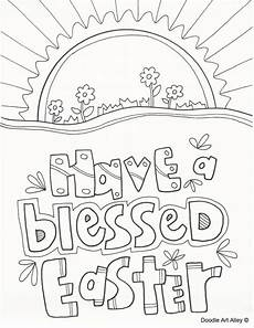 Easter Coloring Pages Printable Religious Religious Easter Coloring Page Religious Doodles