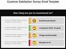 Survey Email Template Customer Satisfaction Survey Email Template Ppt Slide