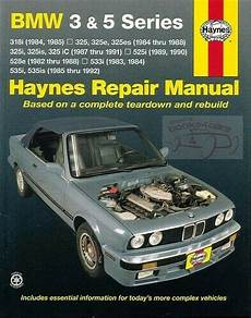 Bmw Shop Manual Service Repair Book Haynes Owners Workshop