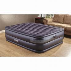intex air bed mattress with built in electric