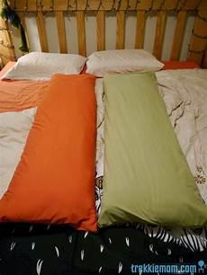 trekkie pillow cover tutorial from a bed sheet