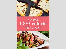 1,200 Calorie Diet Menu   7 Day Lose 20 Pounds Weight Loss
