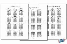 Guitar Chart Pdf Printable Guitar Chord Pdf Ebook Download Play Any Song