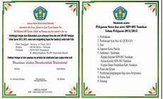 contoh undangan perpisahan sekolah contoh surat undangan perpisahan sma smp sd terbaru