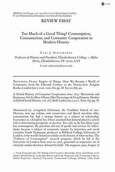 Essay On Consumerism Essays Consumerism United States