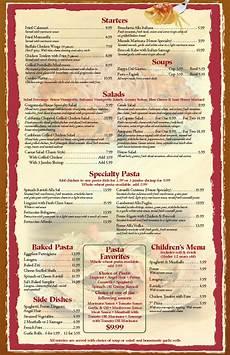 Blank Menus Restaurant Menu Templates Graphics And Templates