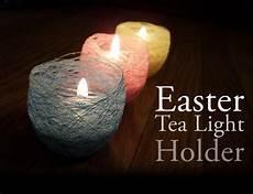 Tea Light Holder Crafts Mind Ruffle Diy Easter Tea Light Candle Holder