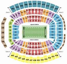 Everbank Field Jacksonville Fl Seating Chart How Much Do You Pay For Season Tickets And How Are They Nfl
