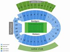 Wisconsin Badgers Seating Chart Camp Randall Stadium Seating Chart Amp Events In Wi