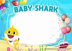 Baby Birthday Invitation Templates Free Baby Shark Baby Shower Invitation Templates Update