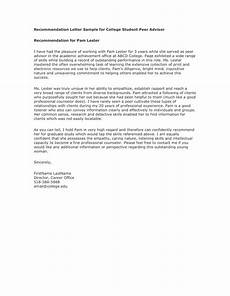 Peer Recommendation Letter Sample Reference Letter From A Teacher In Word And Pdf Formats