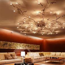 Tree Branch Light Fixture Individual Design Iron Electroplated Tree Branch Shape