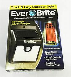 Ever Brite Light Led Motion Activated Outdoor Brand New 1pcs Ever Brite Motion Activated Led Solar