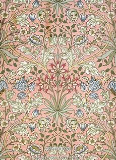 19th Century Wallpaper Designs Hyacinth Wallpaper By William Morris England 19th