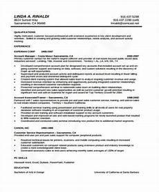 Sample Curriculum Vitae For Accountants 10 Accounting Curriculum Vitae Templates Pdf Doc