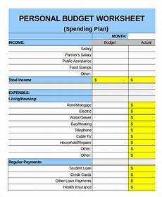 Houshold Budget Family Budget Template 11 Free Sample Example Format