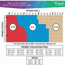 Prevail Size Chart Prevail Air Stretchable Briefs Lightweight Wheelchairs