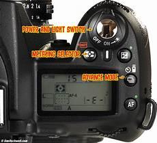 Nikon D80 Light Meter Nikon D90 Top Panel