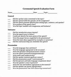 Ceremonial Speech Outline Free 8 Sample Ceremonial Speech Example Templates In Pdf