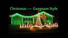 Gangnam Style Lights Christmas Lights Gangnam Style 2012 Youtube