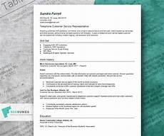 Online Resume Services How To Write A Winning Customer Service Resume Example