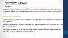 Narrative Essay Thesis Examples Narrative Essays