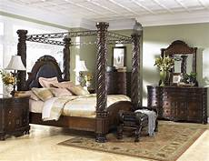 Shore Poster Bedroom Set Shore Poster Canopy Bedroom Set From B553