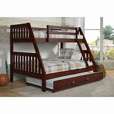 donco washington bunk bed with trundle