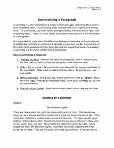 How To Write A Job Summary For A Resume 6 Summary Writing Examples In Pdf Examples