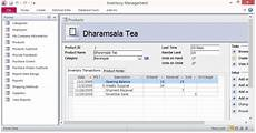Access Inventory Template Free Inventory Control Forms Template For Microsoft Access