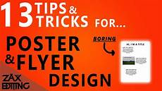 How To Write A Good Flyer How To Make Posters And Flyers Look More Professional