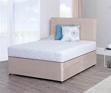 lifestyle 5ft king size memory foam divan bed divan bed