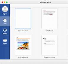 Create New Template Create A New Document By Using A Template In Word 2016 For