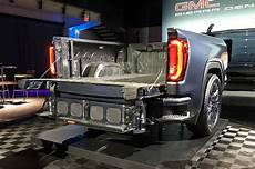 2019 gmc 2500 tailgate one of the coolest features of the 2019 gmc is its