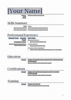 Creating A Resume Template Free Blanks Resumes Templates Posts Related To Free