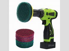 Amazon.com: BasicBrush Drill Brush Attachment Kit   Stiff