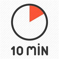 10 Mintue Timer 10 Min Clock Minute Ten Timer Icon