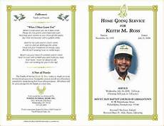 Funeral Program Templates Free 5 Free Funeral Program Template For Word Teknoswitch