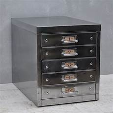vintage industrial steel filing cabinet 5 drawer home