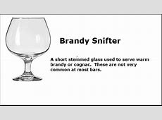 10 Glassware Types You Need to Know!   YouTube