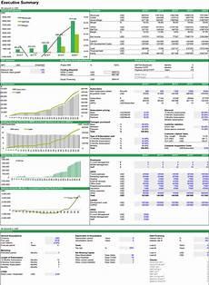 Financial Excel Template Saas Financial Model Template Efinancialmodels