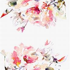 flower wallpaper watercolor anewall floral modern classic bright pink floral