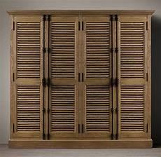 shutter 4 door cabinet
