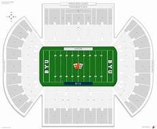 Byu Football Stadium Seating Chart Lavell Edwards Stadium Byu Seating Guide Rateyourseats Com