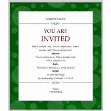 Event Invitation Examples Business Party Invitation Templates Party Invitation