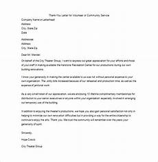Thank You Letter After Service Completed Thank You For Your Service Letter 9 Free Word Excel