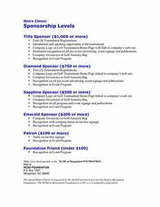 Non Profit Sponsorship Proposal Template 6 Sponsorship Proposal Templates Excel Pdf Formats