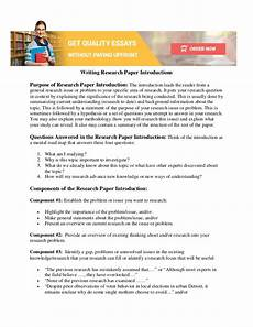 Research Paper Write How To Write Research Paper Introduction