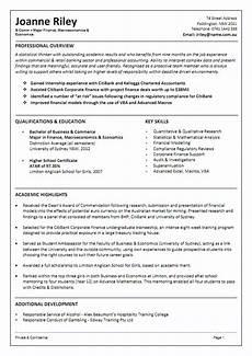Resume In Australia Resume Examples Australia Templates Cv Template